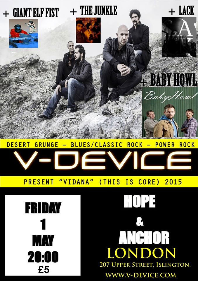 V-Device, LACK, Baby Howl, G.E.F., The Junkle